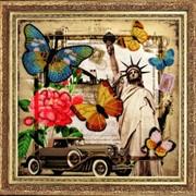 Наборы для вышивания бисером Привет из Америки фото