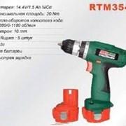 Шуруповерт акумуляторный RTR-MAX 10mm,14,4V  фото