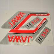 Наклейки JAWA (комплект) фото