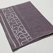 Сирень Arabeska 70х130 хлопок махра полотенце (1шт) Фиеста фото