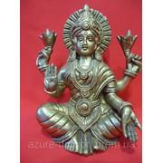 Статуэтка из бронзы Богиня Лакшми фото