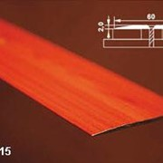 Порог одноуровневый с открытым креплением арт АПС 015 длина 900 мм фото