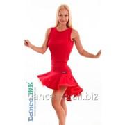 Dance Me Юбка для латины ЮЛ207-Кр женская, масло, красный фото