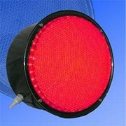 Noname Вкладыш красного свечения 200 мм питание 220В для лампового дорожного светофора арт. СцП23439 фото