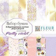 "Набор бумаги ""Pretty violet"" (30,5х30,5 см) фото"