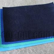 Фетр сине-голубой 20х30см/1мм/12шт 4845 фото