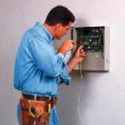 Установка сигнализации и видеонаблюдения. фото