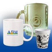 Чашки с логотипом фото