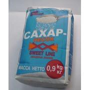 Сахар-песок, расфасованный в потребительскую упаковку (бумажный пакет) по 900 г фото