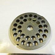 796.0 Решетка для мясорубки системы ENTERPRISE (Д-80/12мм, раб. отв. 8мм) фото
