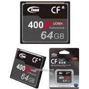 Карта памяти Team CompactFlash 64GB 1000x (TCF64G100001) фото