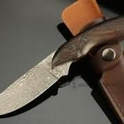 Ножи из дамасской стали. фото