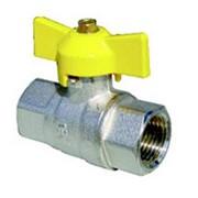 Краны для газа Full bore ball valve female-female фото