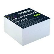 Блок бумажный, белый, разм. 9х9х5 см, проклеенный, офсет 80 гр, арт. I9906p/N/R (INDEX) фото