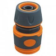"""Соединитель 1/2"""" , быстросъемный,пластиковый корпус с резиновыми вставками ППГ- 000019 фото"""