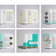 Дизайн печатной продукции фото