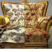 Реставрация мягкой мебели (перетяжка кресла) фото