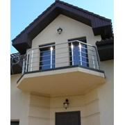 Балконы и балконные ограждения из нержавеющей стал фото