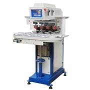 Четырехцветная полуавтоматическая машина для тампонной печати (закрытая красочная систем фото