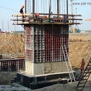 Опалубка для фундамента мелкощитовая стальная МСК фото