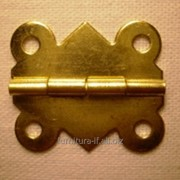 Петля полуоборотная золото, код B-018 фото