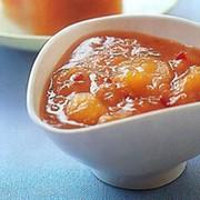 Персиковый джем фото