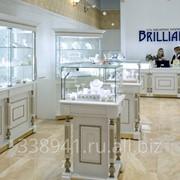 Торговое оборудование для ювелирных магазинов фото