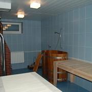 Баня в гостинице фото