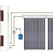 Гелиоводонагреватели, Солнечная водонагревательная СПЛИТ-система с двумя теплообменниками, Гелиоводонагреватели фото