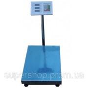 Торговые электронные весы до 300 кг со стойкой (платф. 35*45) par002611opt фото