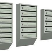 Почтовые ящики многоквартирные фото