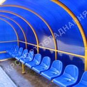 Скамейки, лавки запасных. Сиденья для стадионов фото