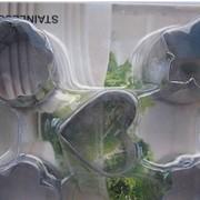 Набор насадок кондитерских мини фигурные 5шт.(код 00398) фото