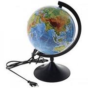 Глобус с подсветкой политический, 21 см фото