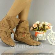 Женские ботинки код 11603 фото