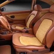 Перетяжка сидений автомобиля. Пошив сидений автомобиля фото