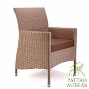 Плетеная мебель из ротанга, Кресло Капри фото
