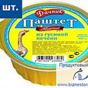 """БАРС Паштет печёночный гусиный """"ДАЧНИК"""" 100гр х 20шт ламистр фото"""