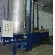 Монтаж оборудования для производства и упаковки пенопласта фото