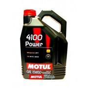 Масло моторное Motul Модель 15W50 4100 POWER 5L фото