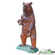 Фигура Медведь большой фото