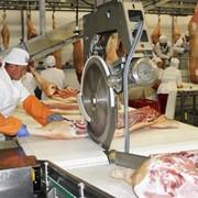 Обвалка полутуши говядины, свинины фото
