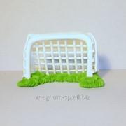 Фигурка из мастики Ворота футбольные фото
