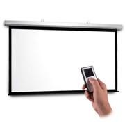 Моторизированный экран настенный PROscreen 2.4х1.3 м. 108' 16:9 фото