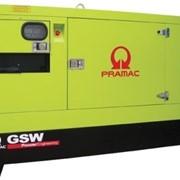 Дизель-генератор Pramac GSW80D в кожухе (двигатель Deutz (Германия), мощность (60-63.5кВт, 74.9-79.4кВА), АВР(Автоматический ввод резерва), устройство подогрева двигателя фото