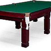 Бильярдный стол для пула Texas 9ф (махагон) ЛДСП фото