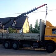 Услуги машины с манипулятором Киев и область фото