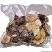 Белые грибы половинки в вакууме фото
