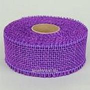 Лента джутовая темно-пурпурная R020-05 фото