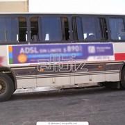 Услуги по рекламе в общественном транспорте фото